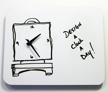 Bild A CLOCK A DAY 2