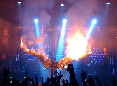 магия танца Rammstein-live