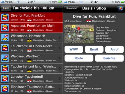 App Tauchradar
