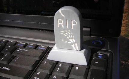 USB Grabstein