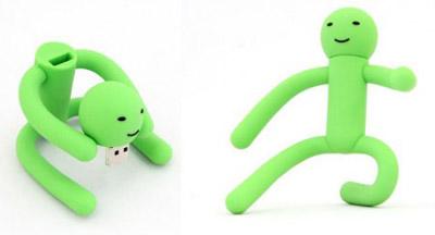 USB Stick grünes Männchen