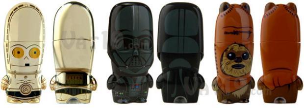 USB Stick der Star Wars Figuren