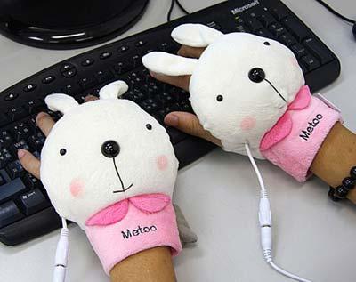 USB Handwärmer Hasenpfote