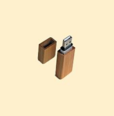 USB-Stick aus Kirschbaumholz