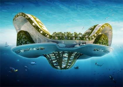 Visionäre Zukunftsideen, so leben wir in der Zukunft