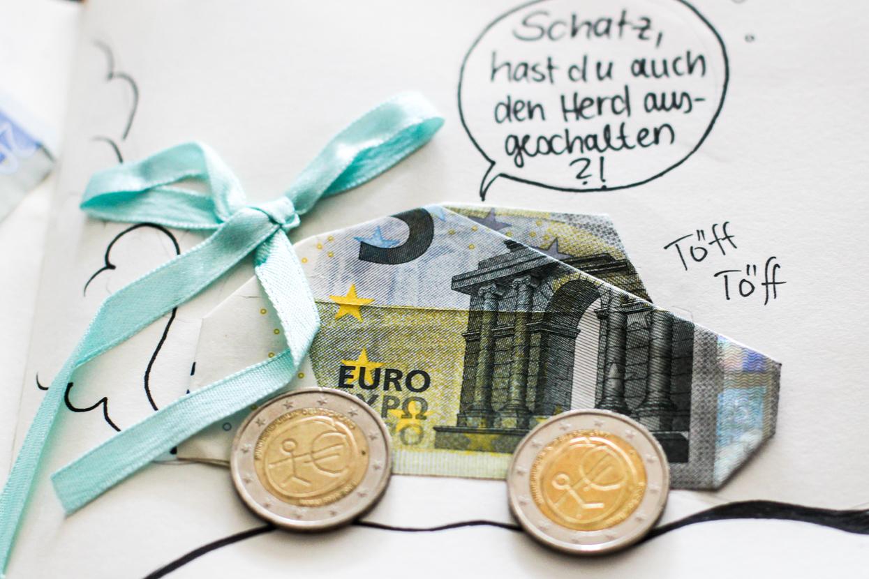 Außergewöhnliche Origami Geldgeschenke, Origami Tiere und mehr