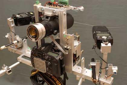 Arduino gesteuertes Makro Objektiv