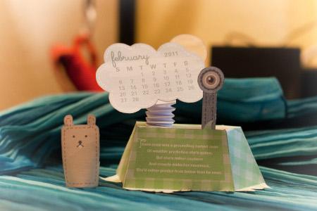 Papercraft, Papier Kunstwerke und mein 3D Kalender aus Papier