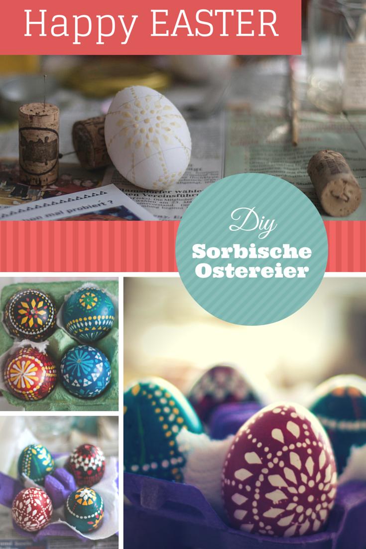 Pinterest DIY Sorbische Ostereier