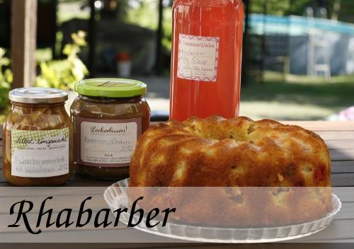 Rhabarber-Samstag, jede Menge tolle Rhabarber-Rezepte