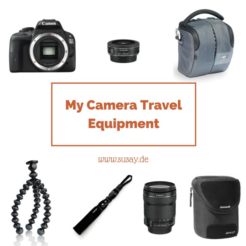 Meine neue Spiegelreflexkamera auf Reisen, die Canon 100D