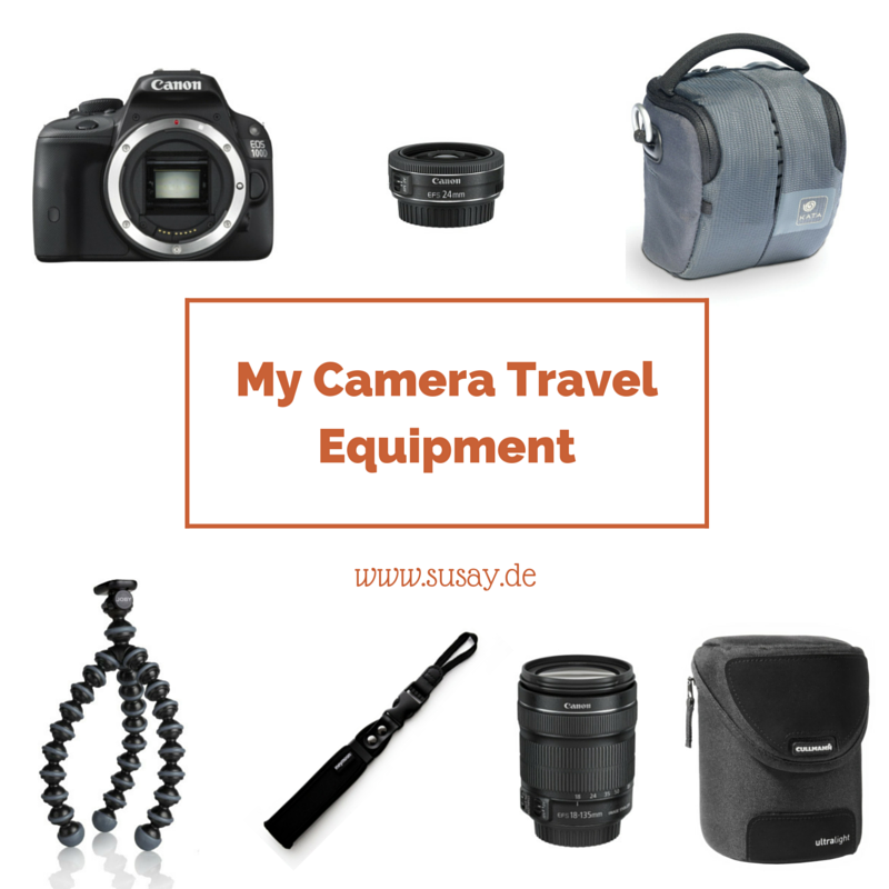 My Camera Travel Equipment