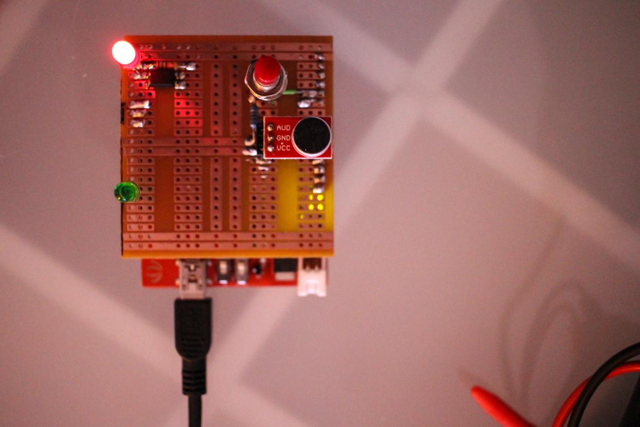 Mein Wochenendprojekt: Arduino Kamera Klatsch-Auslöser