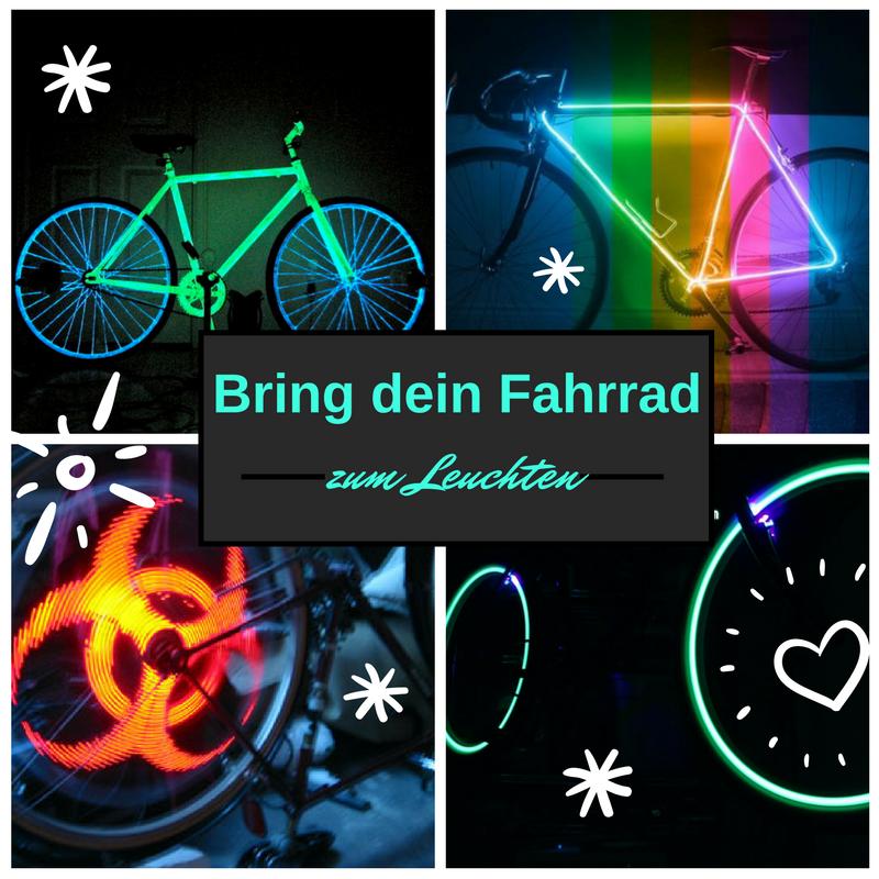 Fahrrad Beleuchtung und coole Night Bikes