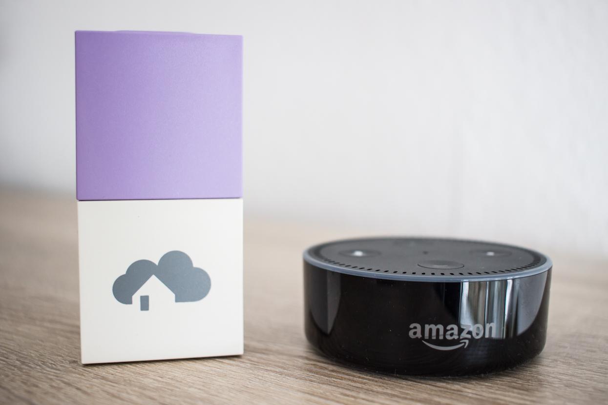 Alexa Sprachsteuerung für das SmartHome mit dem homee Brain Cube