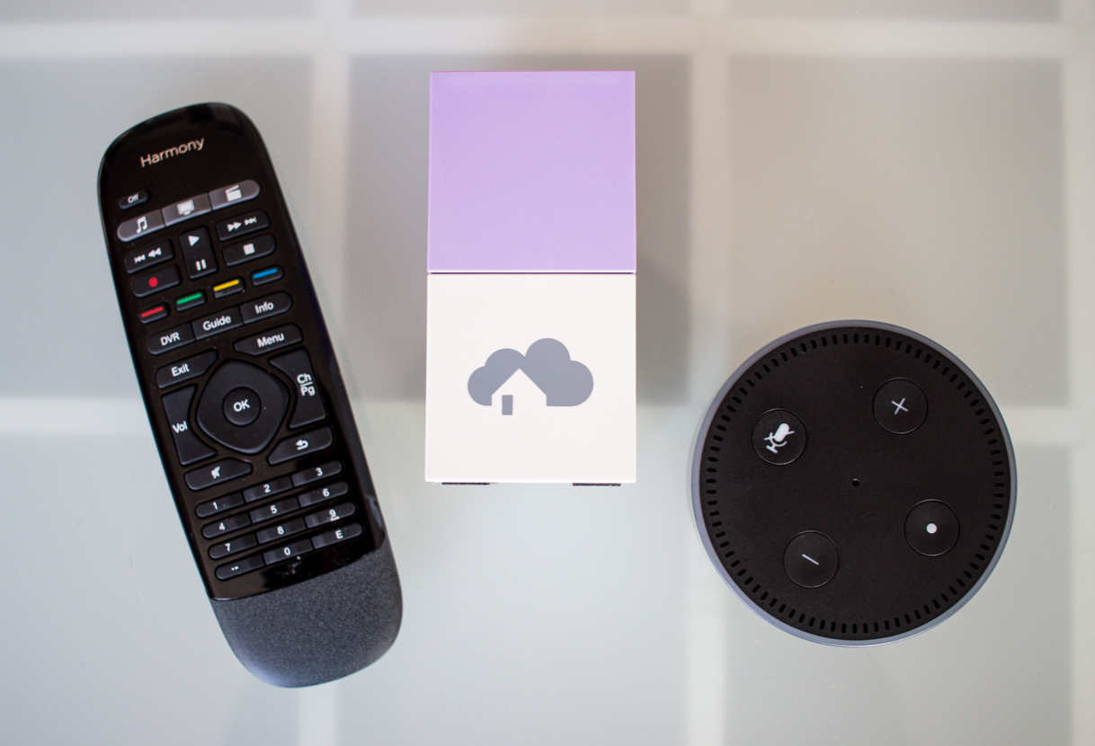 Logitech Harmony Hub mit homee und Alexa Sprachsteuerung verwenden