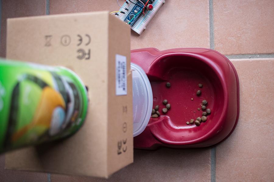 Foto Arduino Katzenfutterautomat