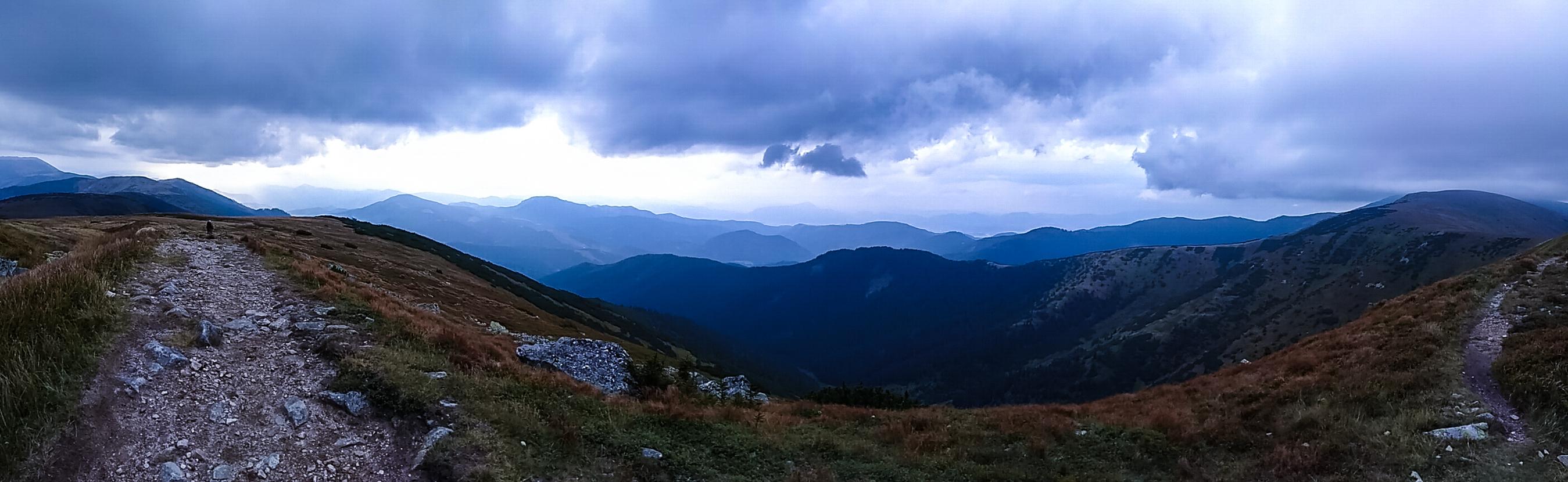 Slowakei Kammwanderung in der Niederen Tatra
